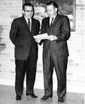 Donald G. Gill and Harry J. Merigis by University Archives