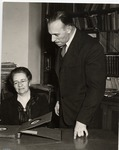 Kevin J. Guinagh and Ruth Carman by University Archives