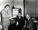 Bryan Heise, Gerhard C. Matzner, and Hans C. Olsen by University Archives