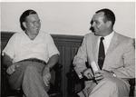 John W. Masley and Jack Kaley by University Archives