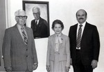 Walter A. Klehm, Lucille Klehm, and Larry D. Helsel by University Archives