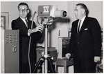 Floyd A. Landsaw and Harry J. Merigis by University Archives