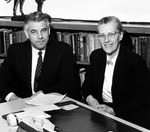Donald A. Kluge and Elizabeth K. Lawson by University Archives