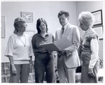 Wilson Luquire and Booth Library Staff by University Archives