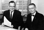 Ross C. Lyman and William D. Miner by University Archives