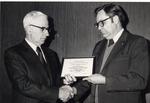 Walter A. Klehm and Robert B. Sonderman by University Archives