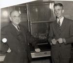 Ernest L. Stover and Hiram F. Thut by University Archives