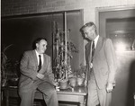 Harold C. Fritts and Hiram F. Thut by University Archives
