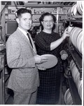 Robert C. Wiseman and Betty Stoops by University Archives
