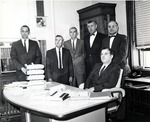 College of Letters and Science Division Chairs and Dean, 1963-64 by University Archives