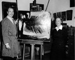 Carl E. Shull and June M. Krutza by University Archives