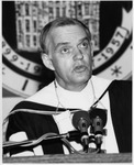 President Daniel E. Marvin Speaking At Commencement by University Archives