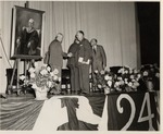 President Buzzard At The Presentation Of Portrait Of Edson Homer Taylor by University Archives