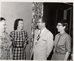 President Quincy V. Doudna Visiting In Champaign