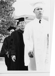 President Quincy V. Doudna In Commencement Processional