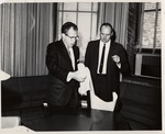 President Quincy V. Doudna With Asa W. Ruyle, Jr.