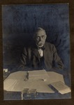 President Livingston C. Lord Seated At His Desk, Ca. 1910
