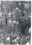 President Robert Guy Buzzard In The Iris Garden