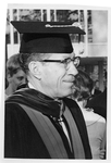 President Quincy V. Doudna Dressed For Commencement