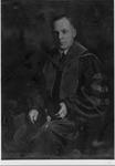 President Robert Guy Buzzard In Cap And Gown, 1925