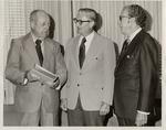 Presidents Robert G. Buzzard, Gilbert C. Fite, And Quincy V. Doudna