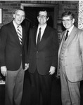 President Daniel Marvin with Terry Bruce by University Archives