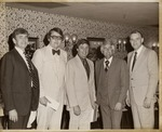 President Daniel Marvin with Max Coffey and Others by University Archives