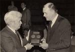 President Daniel Marvin, Plaque Presentation by University Archives