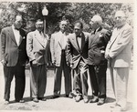 President Robert Guy Buzzard and Others by University Archives