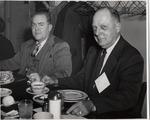 President Robert G. Buzzard and Raymond R. Gregg by University Archives