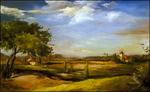Tuscan Landscape by Jenny Chi