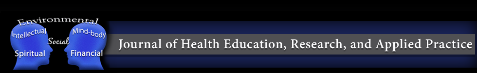 Journal of Health Education, Research, and Applied Practice