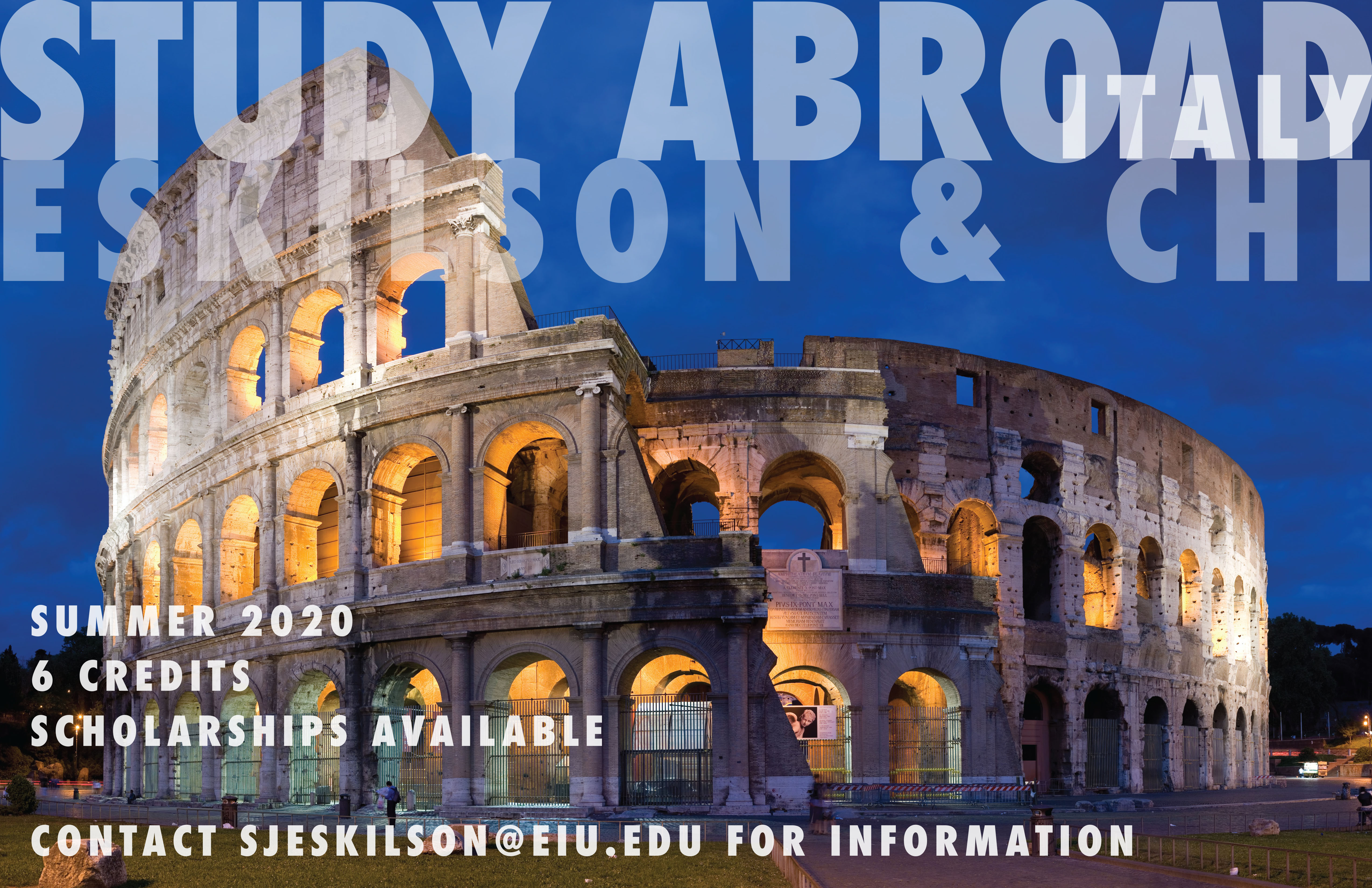 Study Abroad – Italy