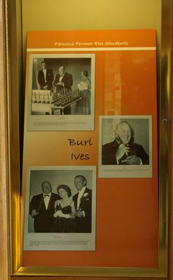 Famous Alumni: Burl Ives