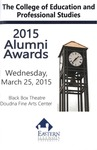 2015 Alumni Awards by College of Education and Professional Studies
