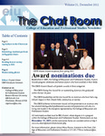 The Chat Room, Vol. 21 by College of Education and Professional Studies
