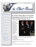 The Chat Room, Vol. 18 (April 2010) by College of Education and Professional Studies