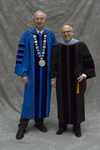 Dr. William L. Perry, President, Mr. Jonathan F. Gosse, Charge to the Class