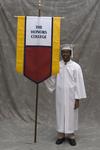 Mr. Josh K. Boykin, Honors College banner marshal