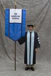 Dr. Thomas R. Hawkins, Faculty marshal