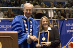 Dr. William L. Perry, President, Ms. Lisa Cerny, Livingston Lord Scholar