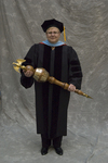 Dr. Pat J. Fewell, Commencement marshal by Beverly J. Cruse