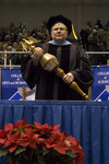 Dr. Pat J. Fewell, Commencement marshal