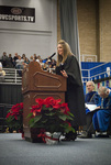 Ms. Michelle L. Murphy, Student body president