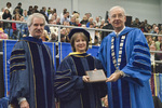 Dr. Blair M. Lord, Provost and Vice President for Academic Affairs, Dr. Janet T. Marquardt, Distinguished faculty award, Dr. William L. Perry, President