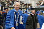 Dr. William L. Perry, President, Mr. James Evans, Charge to the class