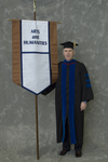 Dr. Roger Beck, Faculty marshal