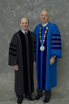 Mr. James Evans, Charge to the class, Dr. William L. Perry, President