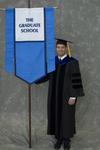 Dr. Andrew Mertz, Faculty marshal by Beverly J. Cruse
