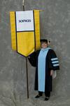 Dr. Joan Henn, Faculty marshal